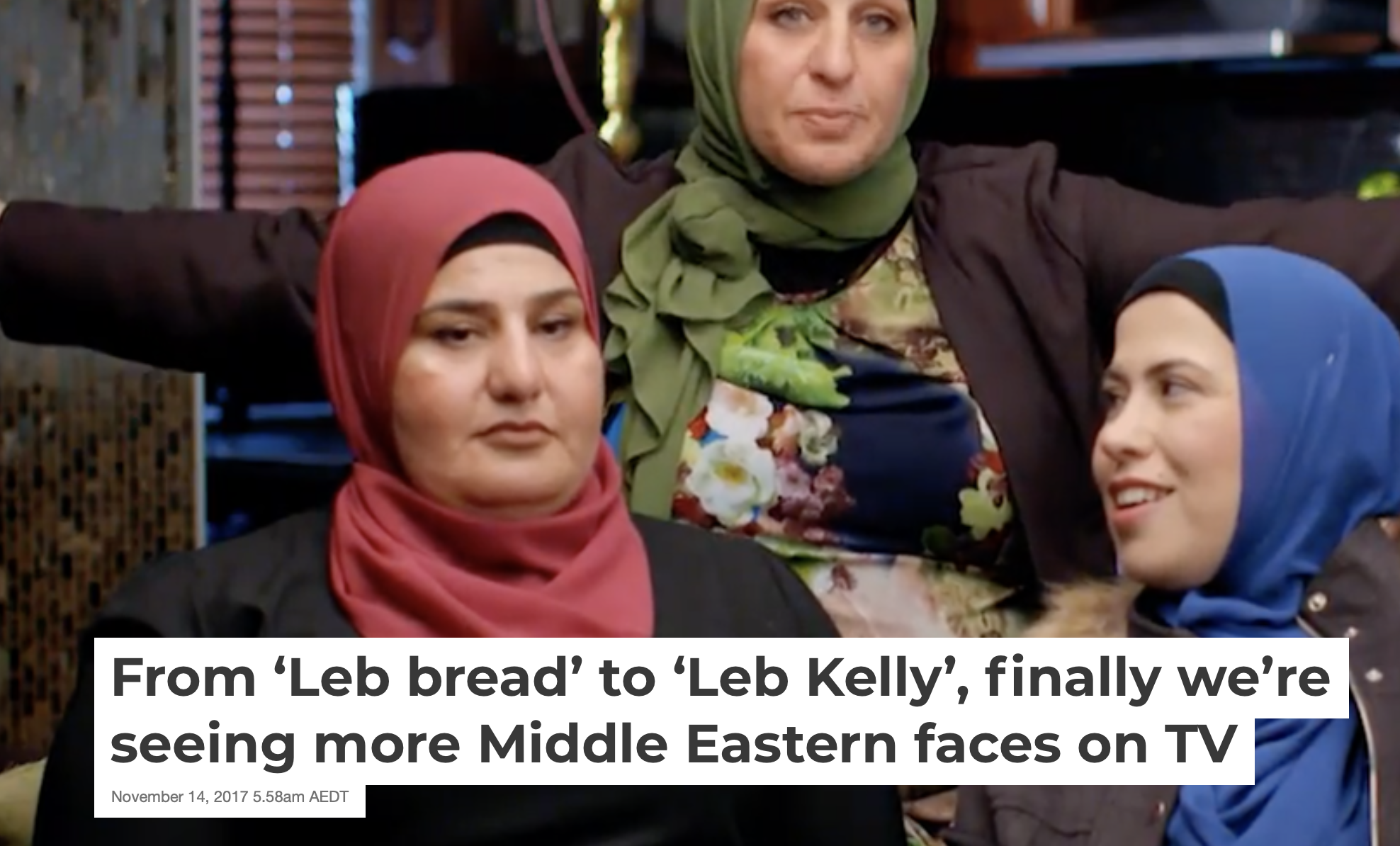 From 'Leb bread' to 'Leb Kelly'